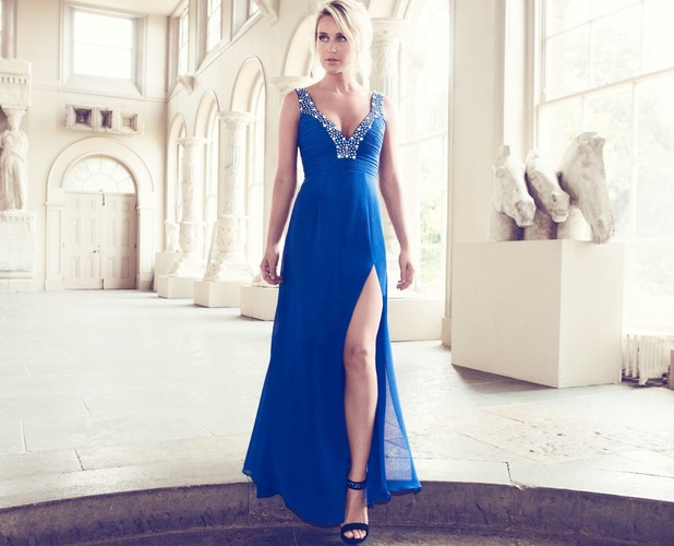 Alex Gerrard models the new VIP collection for Lipsy
