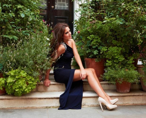 Binky Felstead models Lipstick Boutique collection - Chelsea dress, £85