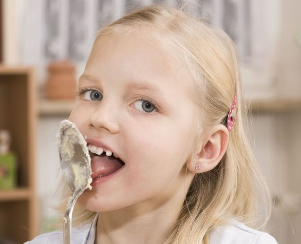 Licking cake mix is our favourite childhood food memory