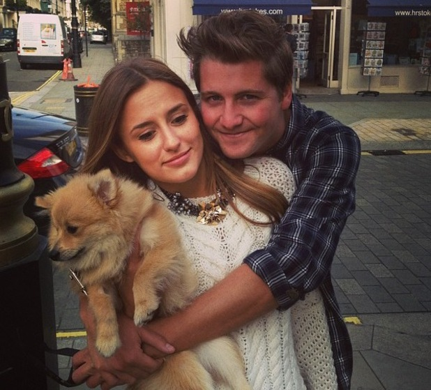 Stevie Johnson and Lucy Watson - 27 September 2013