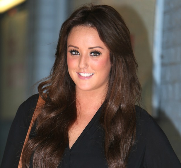 Charlotte Crosby at the ITV studios in London, 24 September 2013