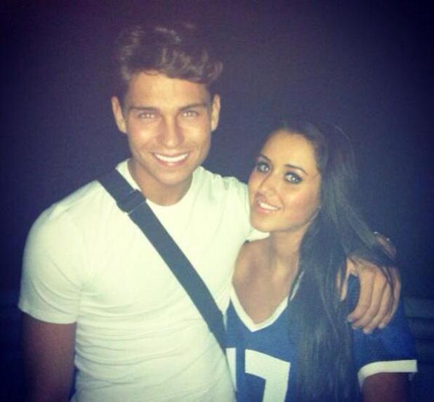 Marnie Simpson and Joey Essex pictured in a nightclub