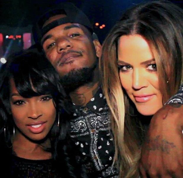 Khloe Kardashian parties with The Game and Malika Haqq - 24.9.2013