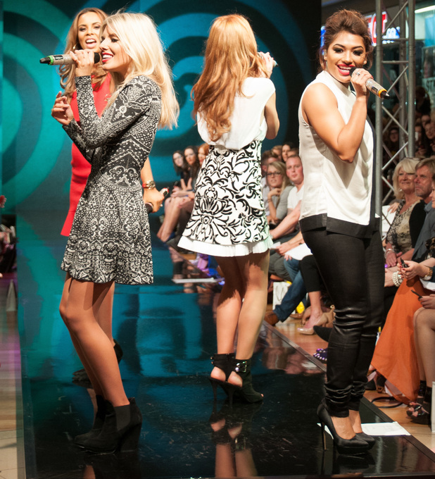 The Saturdays Perform At Style Birmingham Live Aw13 Pictures Celebrity News News Reveal