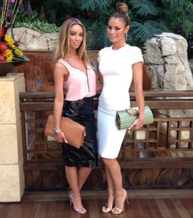 Chloe Sims and Lauren Pope glam up in Las Vegas - 27 September 2013