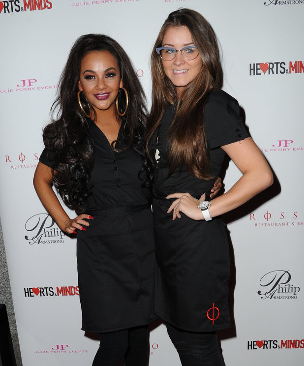 Celebrities attend Hearts & Minds Charity's Unique Fashion Experience held at Rosso Restaurant Manchester Chelsee Healey, Brooke Vincent - 25.9.2013