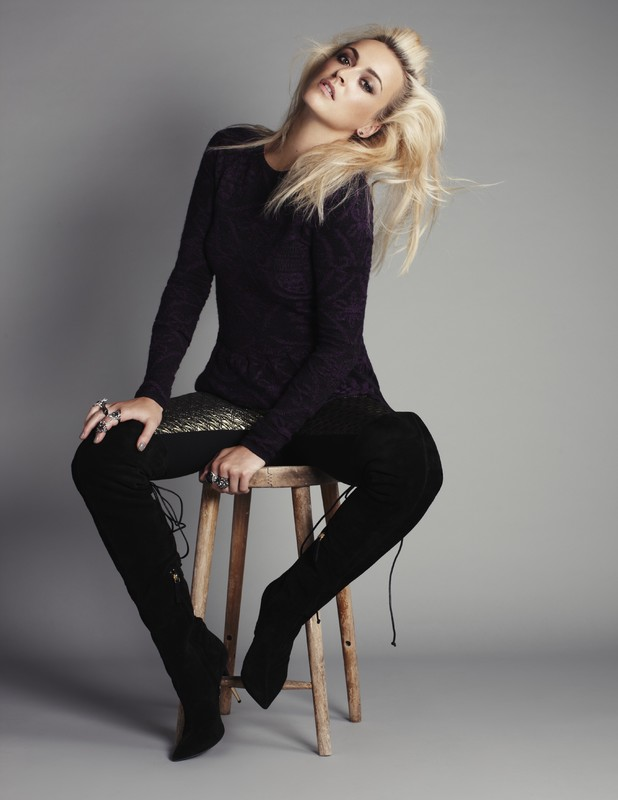 Fearne Cotton models new mid-season Autumn Winter 2013 line for Very.co.uk