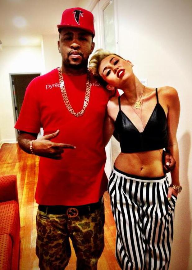 Miley Cyrus and Mike WiLL Made It pictured June 2013.