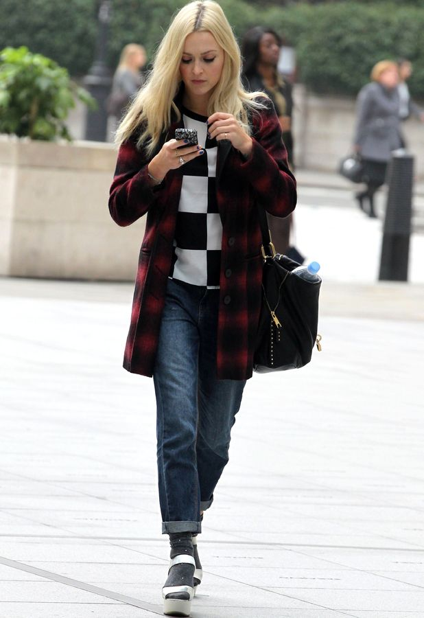 Fearne Cotton out and about in London, Britain - 24 Sep 2013
