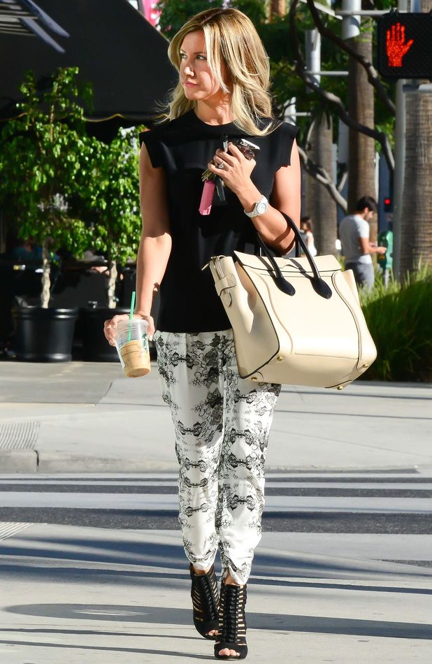 Ashley Tisdale out and about in Los Angeles, America - 26 Sep 2013