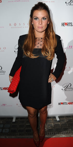 Coleen Rooney attends Hearts & Minds Charity's Unique Fashion Experience held at Rosso Restaurant Manchester, 25 September 2013