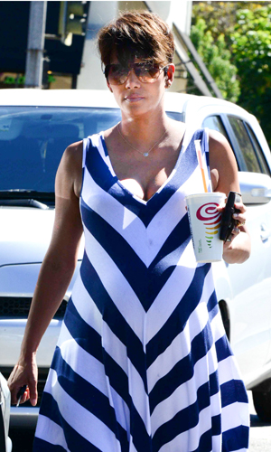 Halle Berry out and about, Los Angeles, America - 23 Sep 2013 23 Sep 2013