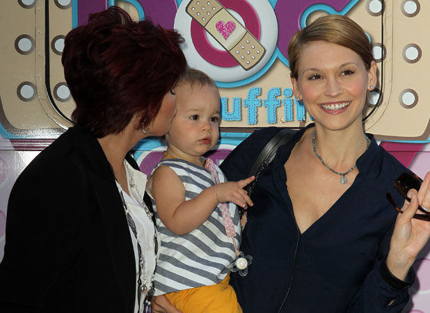 """Lisa, Sharon and Pearl Osbourne at Disney Junior is bringing the role-modeling messages of its acclaimed animated series """"Doc McStuffins"""" Held at The Grove, 26 September 2013"""