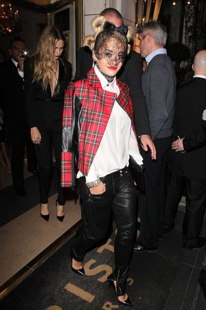 'Mademoiselle C' film screening after party, Paris, France Rita Ora and Cara Delevingne 1 Oct 2013