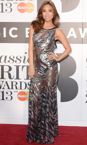Classic BRIT Awards 2013 at Royal Albert Hall - Myleene Klass 2.10.2013