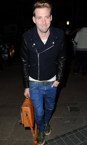 The Voice Judges arrive at the Smoke Grill In Manchester for a meal before filming commences Tuesday - 30.9.2013 Ricky Wilson