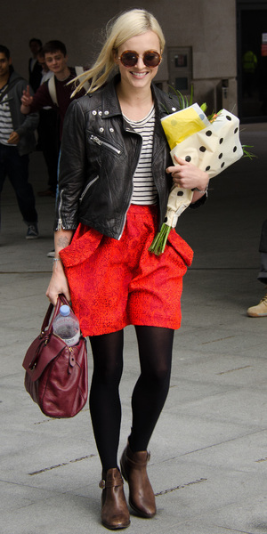 Fearne Cotton leaving the Radio 1 Studios in London - 2 October 2013