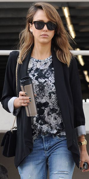 Jessica Alba out and about, Los Angeles, America - 03 Oct 2013