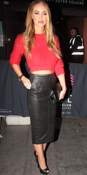 Lauren Pope at Rise nightclub, London - 17 September