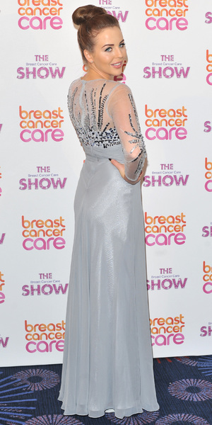 Lydia Bright at the Breast Cancer Fashion Show in London, 2 October 2013