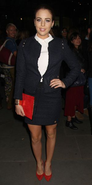 Lydia Bright at the Trader Vic's Relaunch Party at London Hilton Park Lane, London, Britain - 03 Oct 2013