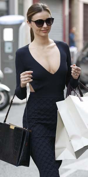 Miranda Kerr during Spring Summer 2014, Paris Fashion Week, France - 29 Sep 2013