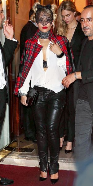 Rita Ora at the 'Mademoiselle C' film screening after party, Paris, France - 01 Oct 2013