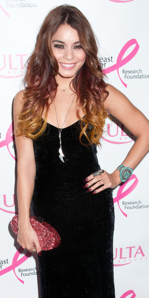 Vanessa Hudgens - ULTA Beautys 'Donate With a Kiss' event in New York, 3 October