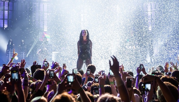 Katy Perry performs at the iTunes festival on Monday 30 September 2013