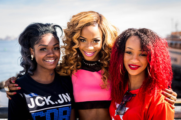 Girl group - Janette, Rielle, SeSe at X Factor judges' houses 2013