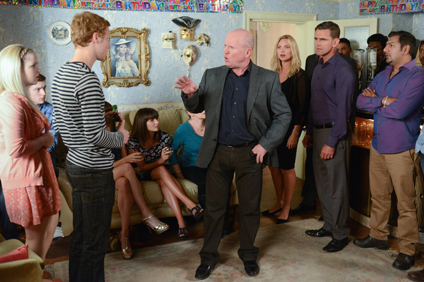 EastEnders, Phil threatens Jay, Thu 3 Oct