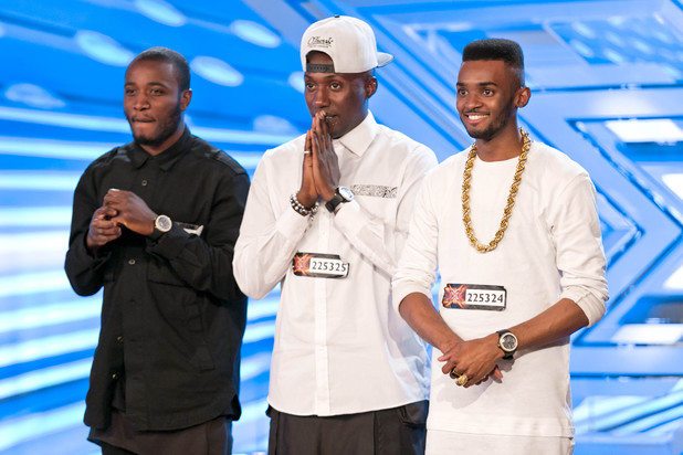 Rough Copy in The X Factor 2013