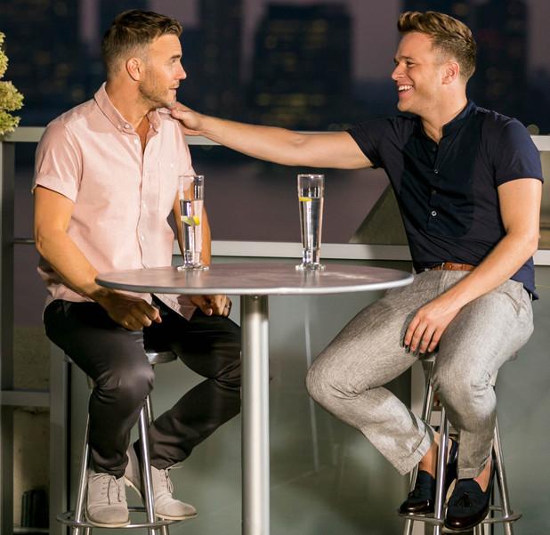 The X Factor, Judges' houses, Gary Barlow, Olly Murs, Sat 5 Oct