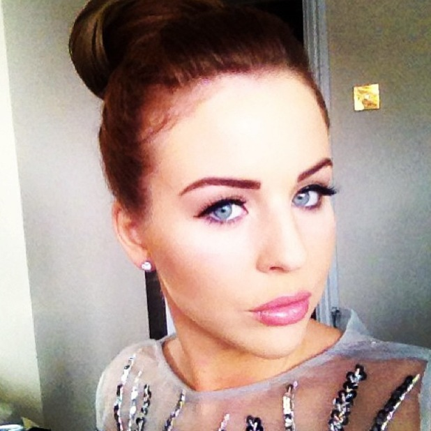 Lydia Bright Instagram Breast Cancer Fashion Show 2 October