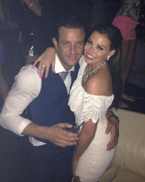 Elliot Wright with cousin Jessica Wright in Vegas
