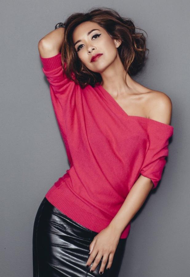 Myleene Klass models new A/W '13 fashion range for Littlewoods
