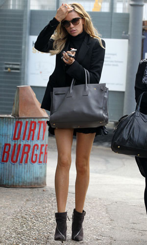 Abbey Clancy out and about, London, Britain - 30 Sep 2013