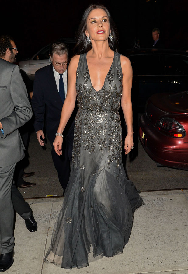Catherine Zeta Jones out and about, New York, America - 29 Sep 2013