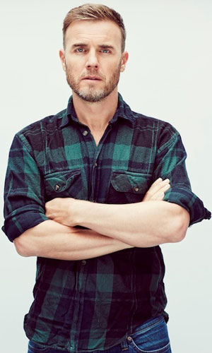 Gary Barlow press shot to announce his new tour. 2013