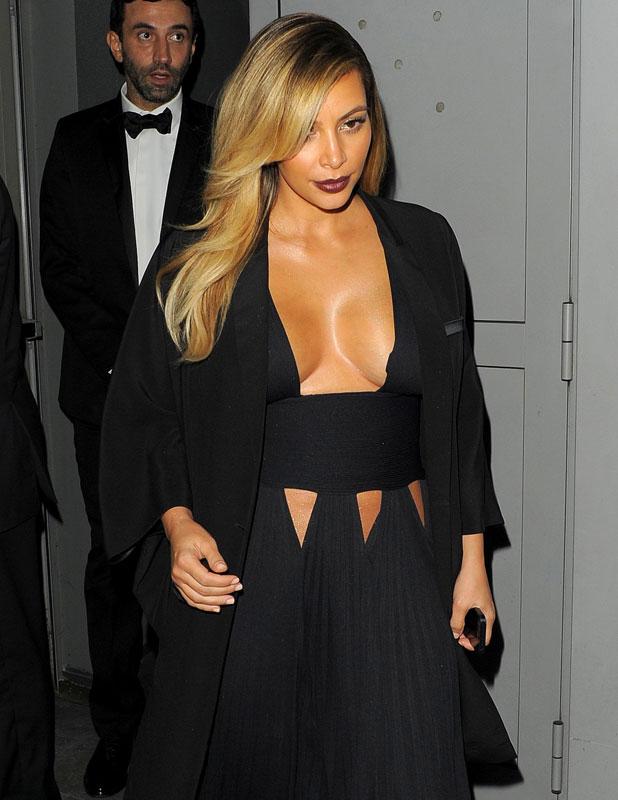 Kim Kardashian at the Mademoiselle C screening in Paris, 1 October 2013