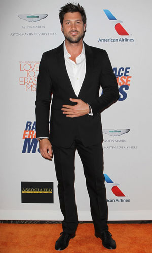 Maksim Chmerkovskiy. The 20th Annual Race To Erase MS Gala 'Love To Erase MS' at The Hyatt Regency Century Plaza - Red Carpet, May 2013
