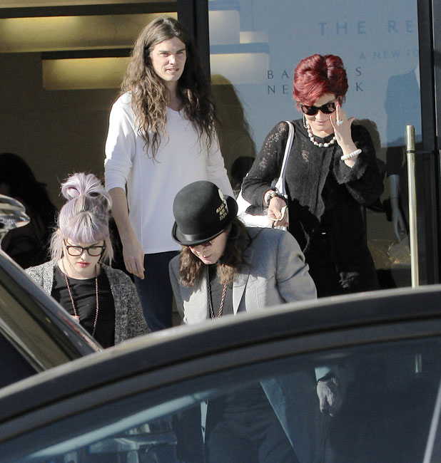 The Osbourne family out and about, Los Angeles, America - 29 Sep 2013