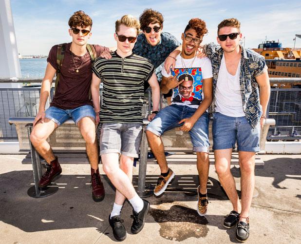 'The X Factor' Judges Houses, TV Programme - 01 Oct 2013 Kingsland