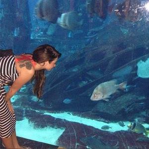 Tulisa Contostavlos on holiday in Dubai (5 October)