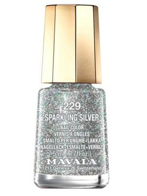 Mavala Mini Colour Nail Polish in Sparkling Silver