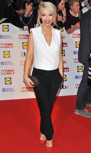 Katie Piper at Pride of Britain Awards held at the Grosvenor House - Arrivals - 7 October 2013