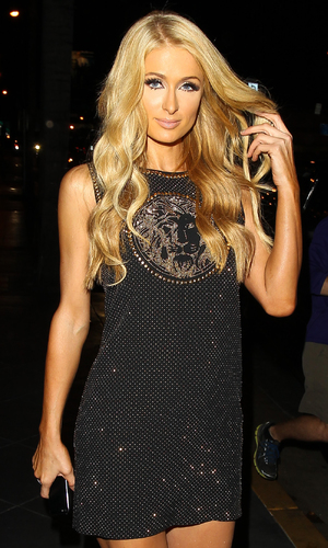 Paris Hilton goes for dinner in Beverly Hills Person In Image:	Paris Hilton Credit :	WENN.com Date Created : 10/08/2013 Location : Los Angeles, United States