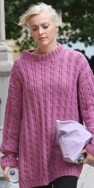 Fearne Cotton leaving the Radio 1 studios in London, 9 October 2013