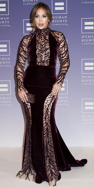 Jennifer Lopez at the Human Rights Campaign 17th Annual National Dinner, Washington DC, America - 05 Oct 2013