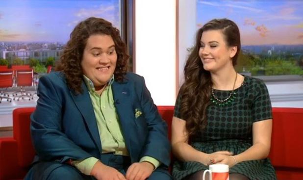 Jonathan & Charlotte appear on BBC Breakfast - 11 October 2013